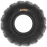 SunF A003 ATV/UTV/Lawn-Mowers Off-Road Tire 20x10-8, 6 PR, Directional Tread