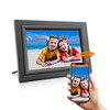 HDgenius 10 inch WiFi digital photo frame black