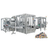 Rotary Oil Bottle Filling Capping Labeling Machine Line