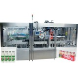 Automatic Bottle Filling and Conduction Sealing Machine for Fruit Juice and Flavoured Milk