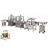Automatic Oil Filling Capping Labeling Machine Line (100-1000ml)