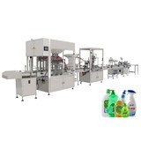Automatic Filling Capping Labeling Machine Line for Detergent, Shampoo, Washing Liquid