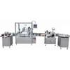 Automatic Small Bottle Filling Machine Line for Essential Oil, E-Liquid