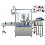 Bottle Filling, Plugging and Capping Machine for Nail Polish and Mascara Cream