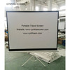 "China Made 60""x60"" Tripod Screen Portable Tripod Projector Screens"