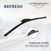 Universal Windshield Wiper Blades Car Exterior Accessories Automobiles