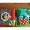 Customized soft felt Fabric quiet book