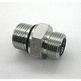 BSP MALE CONE SEAT OR BONDED SEAL /BSP MALE O-RING forged HYDRAULIC PIPE FITTINGS REDUCE UNIONS CONNECTOR ADAPTER