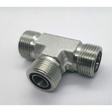 ORFS MALE O-RING TEE HYDRAULIC adapter FITTINGS JOINTS connector hydrant adaptor cross tee