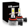 D9 Car LED Headlight 2019 Latest Flip COB Technology 52W H8/H9/H11