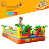 Best selling small dog cartoon kids inflatable castle bouncer castle bouncy slides jumping house
