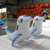 Inflatable dolphin water toys PVC plastic high quality water sport