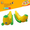 Summer Funny PVC inflatable banana boat water toy seesaw top