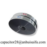 Bopp safety metallized pet roll hot aluminum pattern capacitor film new products on china market