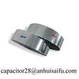 double aluminum metalized polyester film capacitor film