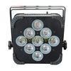 DMX Wireless Battery powered Par light 4 in 1 5 in 1 or 6 in 1 Dj flat par light DMX dj equipment stage lighting