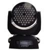 72pcs *3W (3in1) tri-color LED moving head wash light led stage lighting