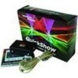 Quickshow ILDA computer software dj Laser software for stage laser control