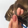 Thread hair extensions micro loop hair extensions high quality virgin hair