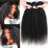 Kinky curl wavy hair extensions human hair Human Hair Extensions wavy hair extensions human hair 100 remy human hair ex