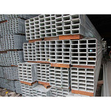 Rectangular Galvanized Steel Pipe   MS Rectangular Pipe Manufacturer