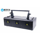 E16a 3*2.5W RGB Full Color Animation Laser Light Bar DMX512/Auto/Sound/Master Slave 100 Built-in patterns Perfect