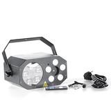 E308 Led Laser+Gobo+Strobe 3in1 effect disco light show dj equipment dmx stage party lighting led matrix light for ktv club bar dj