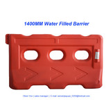 1400mm length HDPE blowing water barrier
