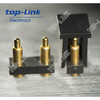 gold plating pogo pin connector for TWS