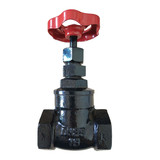 Z15T-16 Metal seal gate valve with internal thread