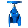 DIN F4 soft seal gate valve
