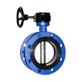 D343H hard sealing flange butterfly valve