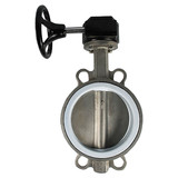 D371F-10P sus304 wafer butterfly valve