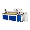 China Tissue paper processing equipments Toilet paper rewinding embossing machine with low price