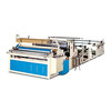 New design small machines for home business toilet tissue paper rewinding making machine