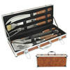 BT001 BBQ Set with Pakka Wood Handle