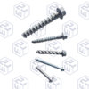 fasteners/bolts/concrete screw