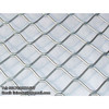 Strong expanded aluminum mesh anti-rust beautiful grid wire mesh