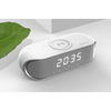 alarm clock radio bluetooth speaker with QI