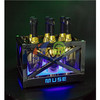 Metal Frame LED Ice Bucket with Laser Lighting  LED Ice Bucket