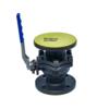 Hot sale LDPE plastic blue color FLANGE PROTECTOR