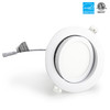 LED Ceiling Recessed Downlight / Slim Round Panel Light 4inch led gimbal light