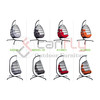 Rattan Wicker Egg Hammock Chair with Hanging Kits,Weather Fastness Hanging Chair with Comfortable Cushion and Pillow