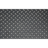 Custom Size Aluminum Diamond Plate Sheets , Diamond Tread Aluminum Sheet Aluminum Tread Plate