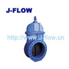 big size resilient seated gate valve