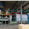 Safe and environmentally friendly cyclic pyrolysis batch equipment