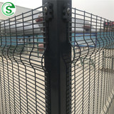 Factory Hot Sale Export to Durban Powder Coated Black/Green Anti Climb Anti Cut Clearvu Mesh Fencing