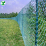 Low Price PVC Coated Cyclone Diamond Chain Link Wire Mesh Fence