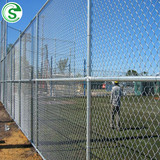 Hot Dipped Galvanized Diamond Wire Farm Field Chain Link Fence