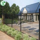Austrlia Hot Popular Anti-Rust Powder Coated Security Swimming Pool Iron Tube Fence
